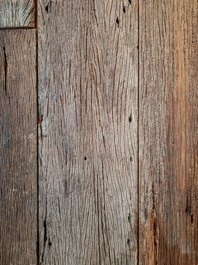 Wooden plate for a wall or floor, vertical stock photo