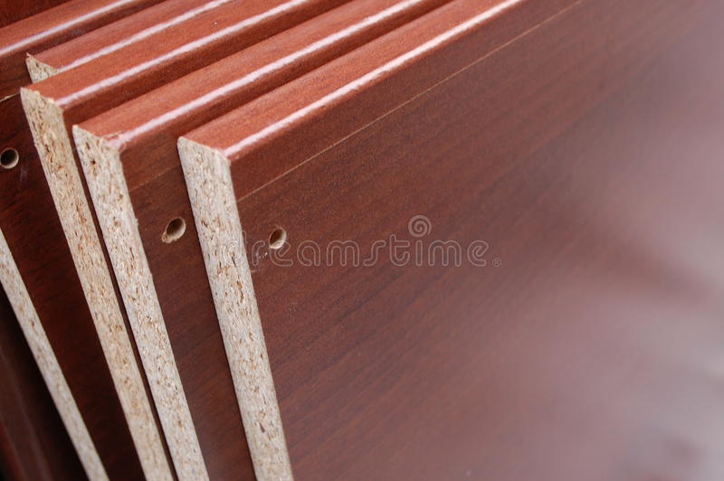 Wooden plates. A collection of wooden plates royalty free stock images