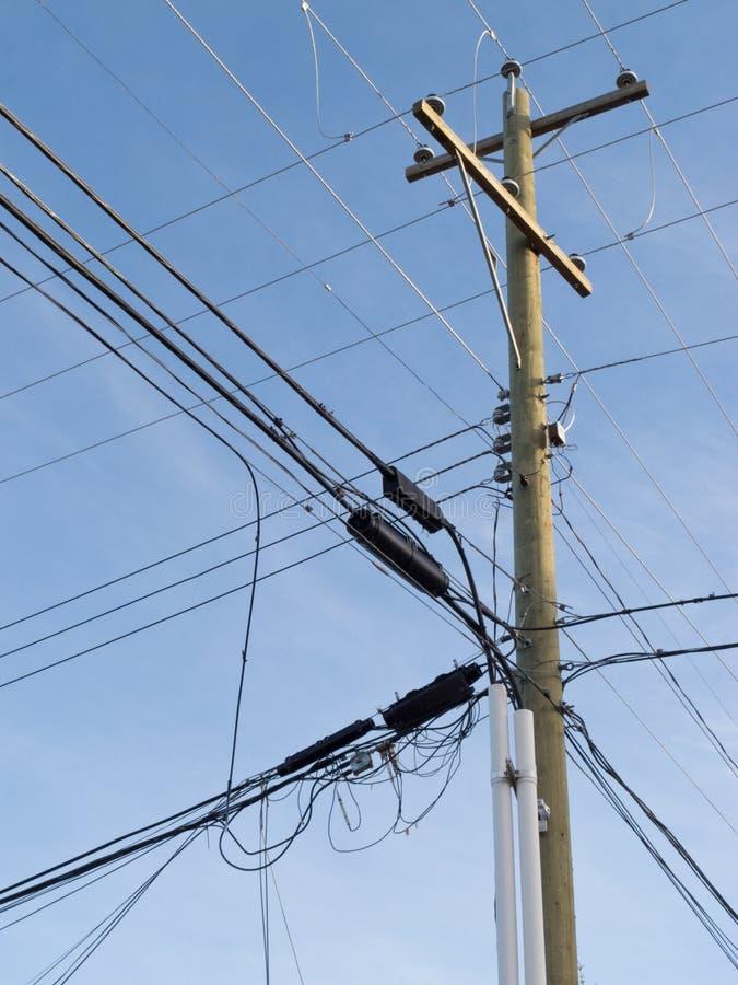 Utility Pole Lines