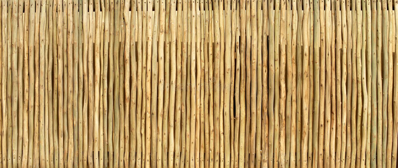 Wooden Pole Screen Texture Stock Photo Image Of Surface