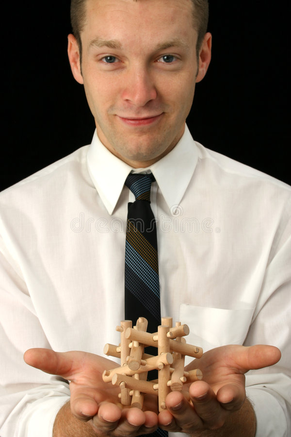 Download Wooden Puzzle stock photo. Image of caucasian, people - 1042408