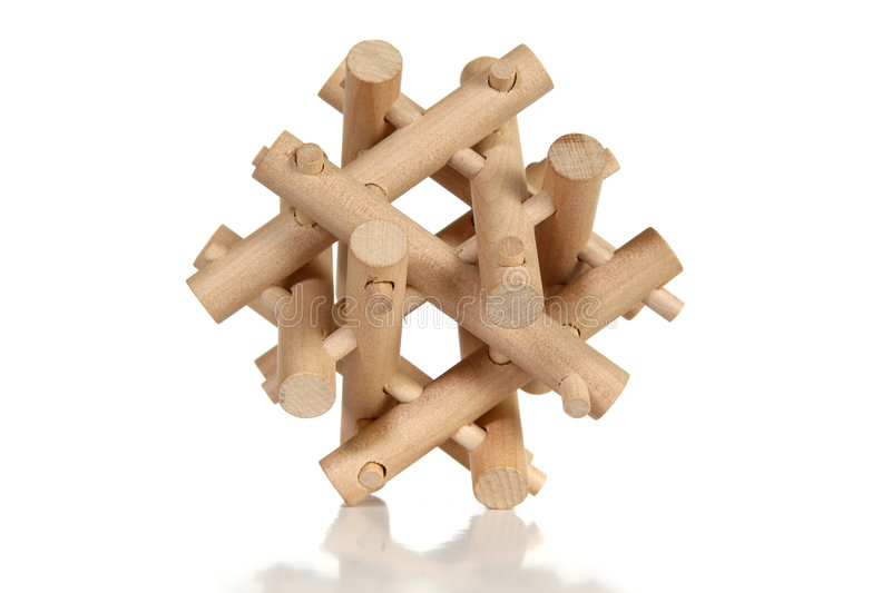 Download Wooden Puzzle Stock Photo - Image: 3501680