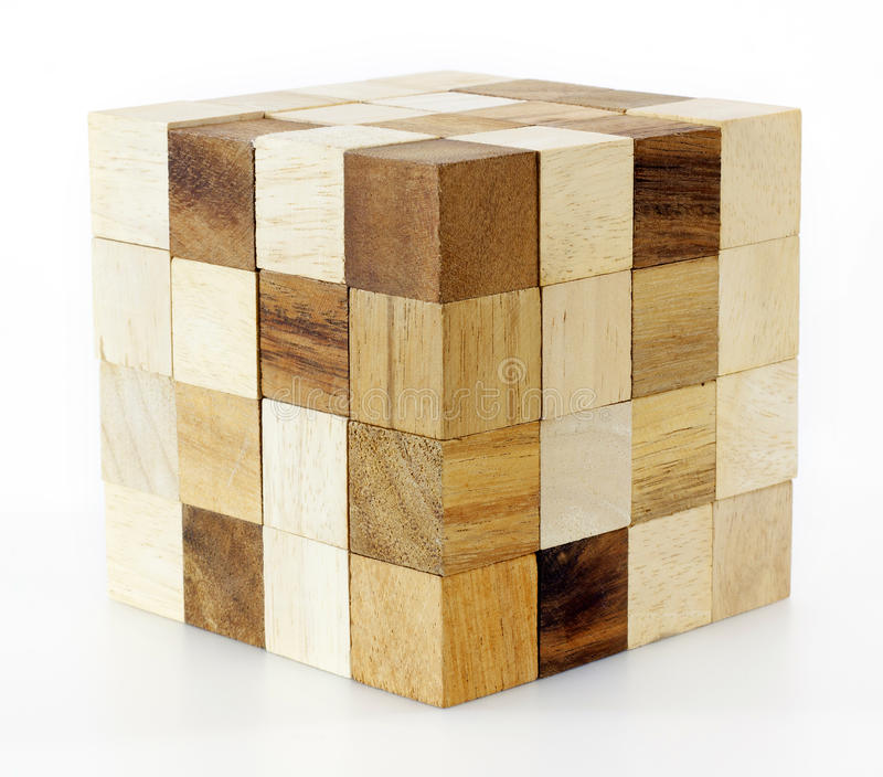 Download Wooden puzzle block game stock image. Image of parts - 25998013