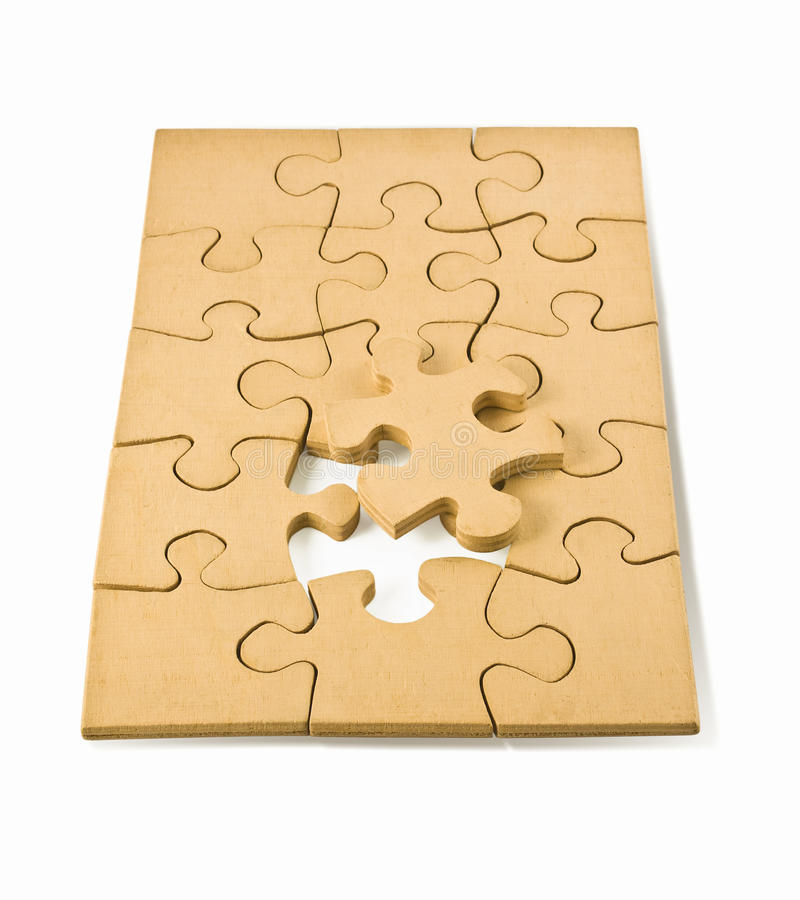 Download Wooden puzzles stock image. Image of objects, texture - 10372817