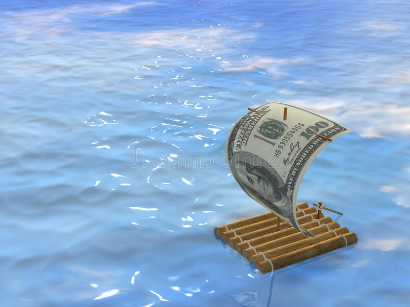 Download Wooden Raft Royalty Free Stock Photos - Image: 13115868