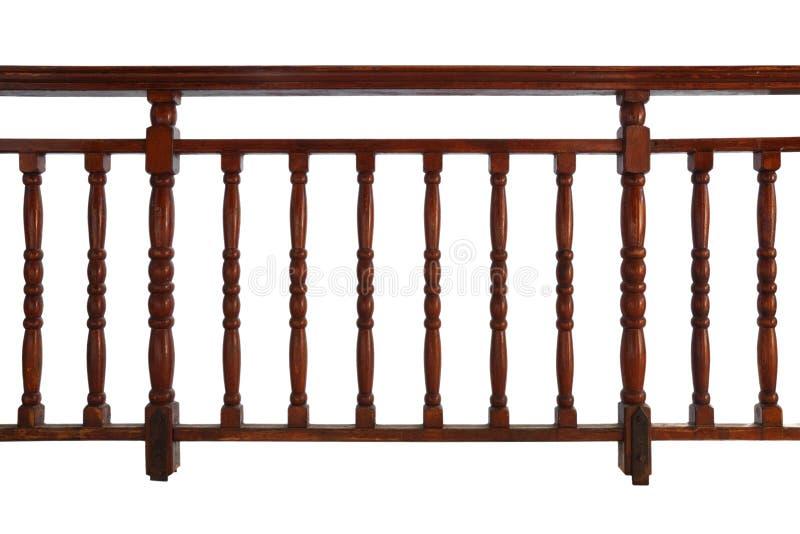 Wooden Railing Stock Image
