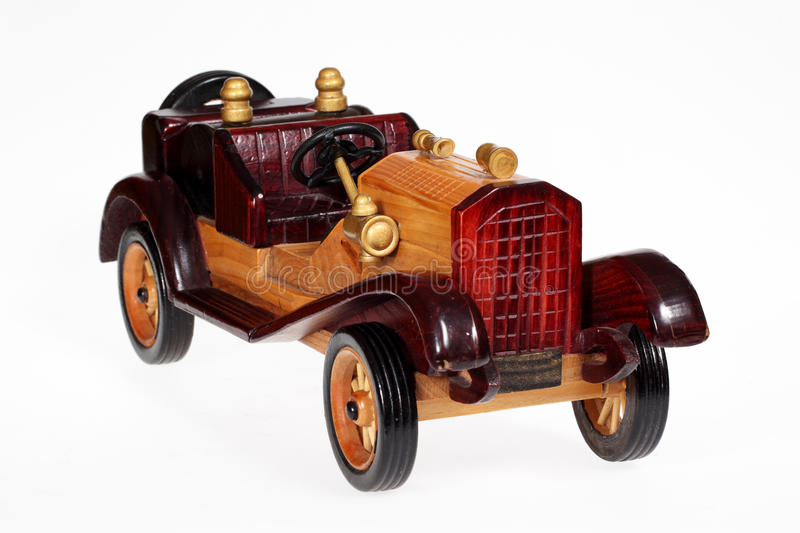 Download Wooden retro car stock image. Image of gift, sport, drive - 28472997