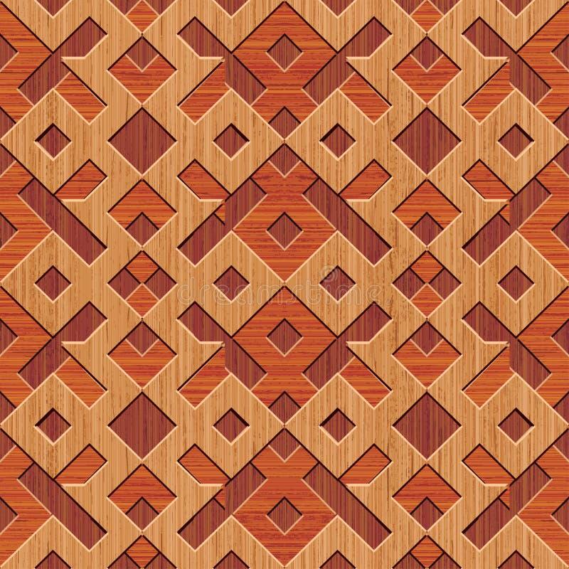 Download Wooden Rhombuses Background Stock Vector - Image: 22445841