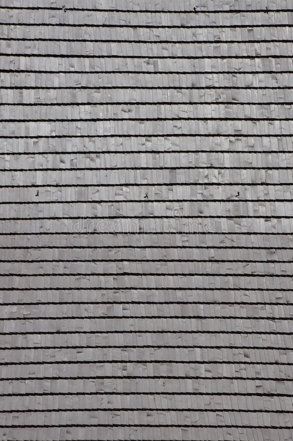 Wooden Roof Shingle Stock Photos