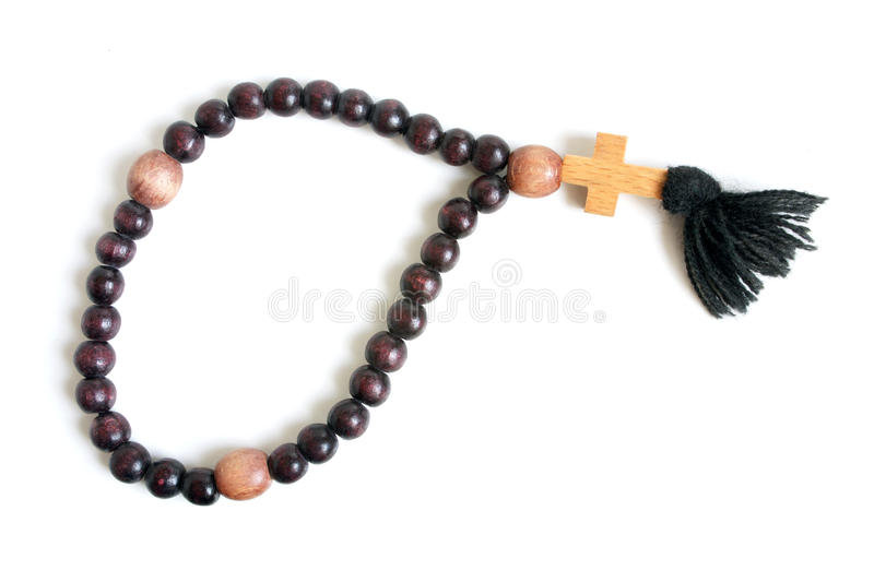 Download Wooden rosary stock photo. Image of macro, concept, chaplet - 14487746