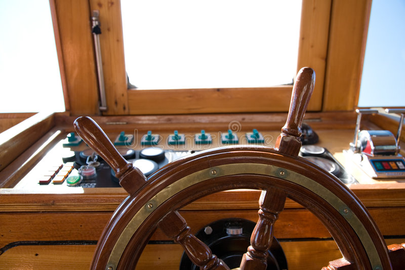 Download Wooden rudder stock image. Image of deck, brown, object - 7408783