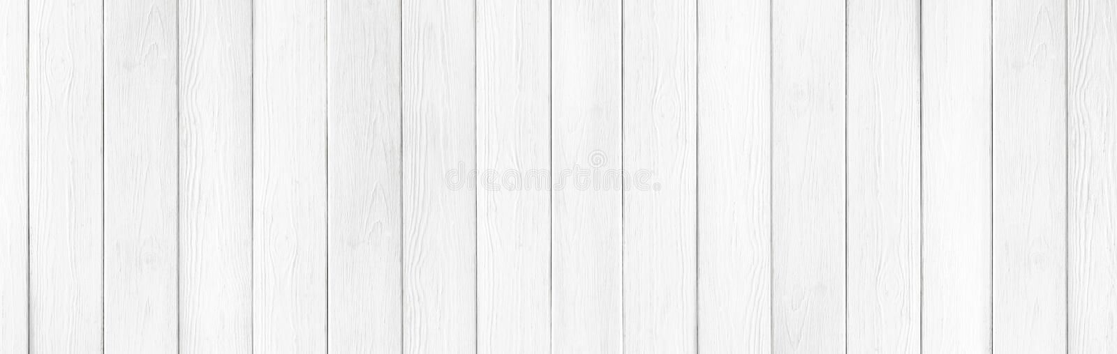 Wooden rustic white planks texture wide background royalty free stock photos