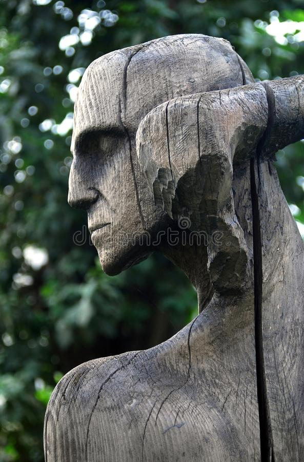 Download Wooden Sculpture Composition By E. Chubarov Editorial Stock Image - Image: 27171064