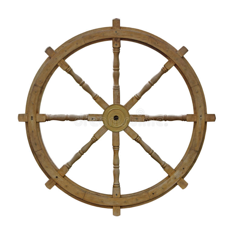 Download Wooden ship wheel stock image. Image of circle, wooden - 22464331