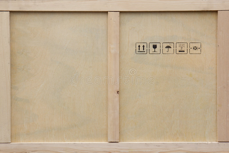 Download Wooden Shipping Crate. Stock Photography - Image: 4247302
