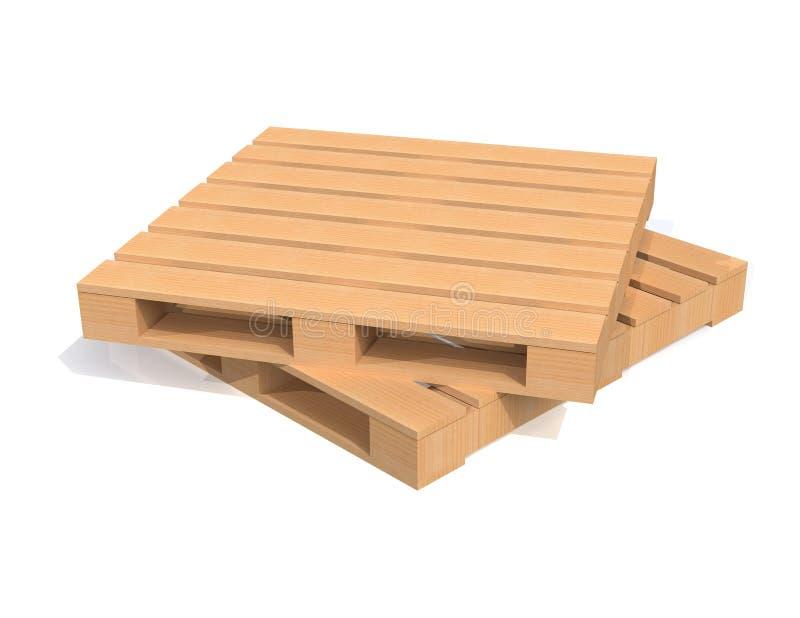 Download Wooden Shipping Pallet stock illustration. Image of illustration - 33070684