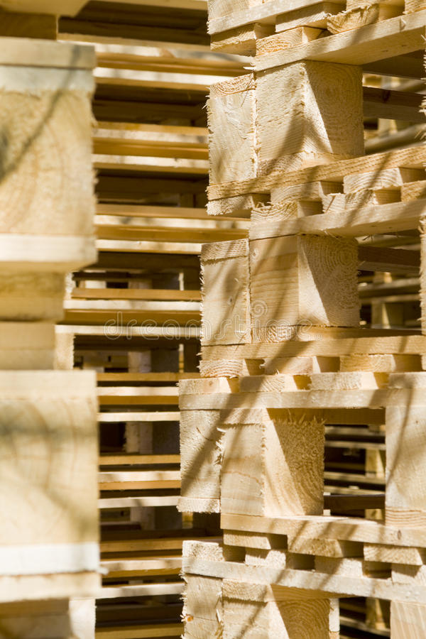 Free Wooden Shipping Pallets Stock Photos - 13266083