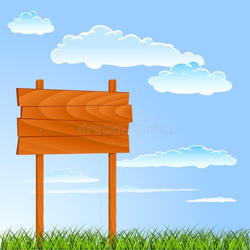 Download Wooden sign stock vector. Image of grunge, outdoor, wild - 18470587