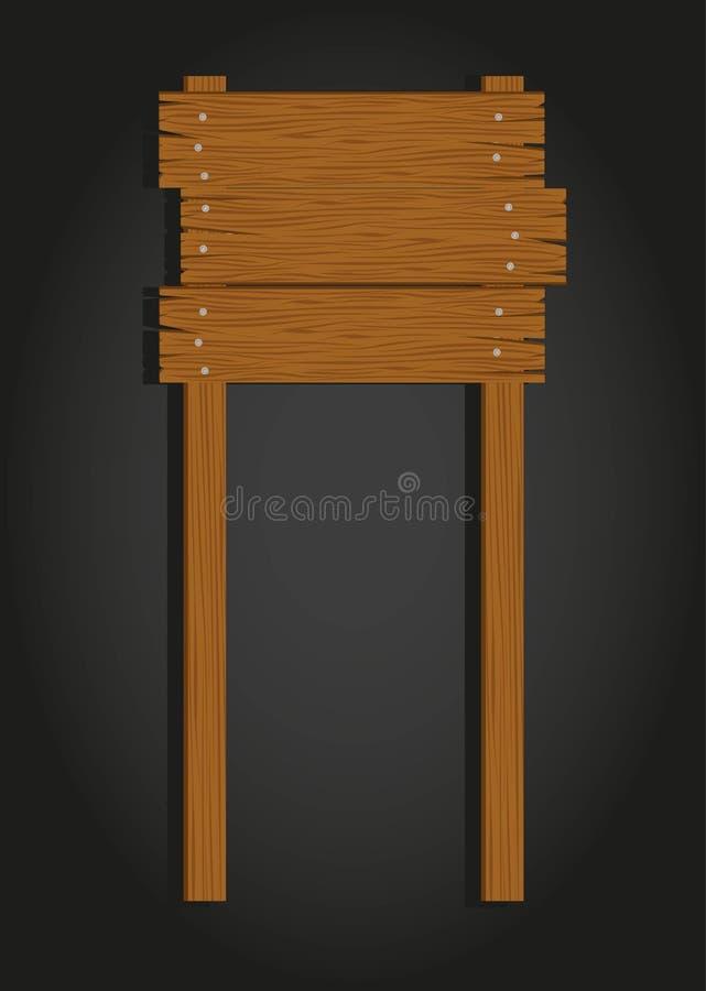 Download Wooden signage stock vector. Illustration of design, pattern - 24713096