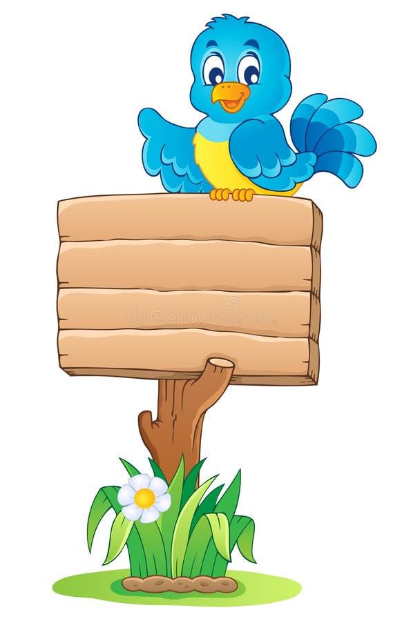 Wooden signboard theme. Vector illustration vector illustration