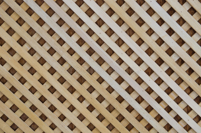 Wooden slat roof. On top royalty free stock photography