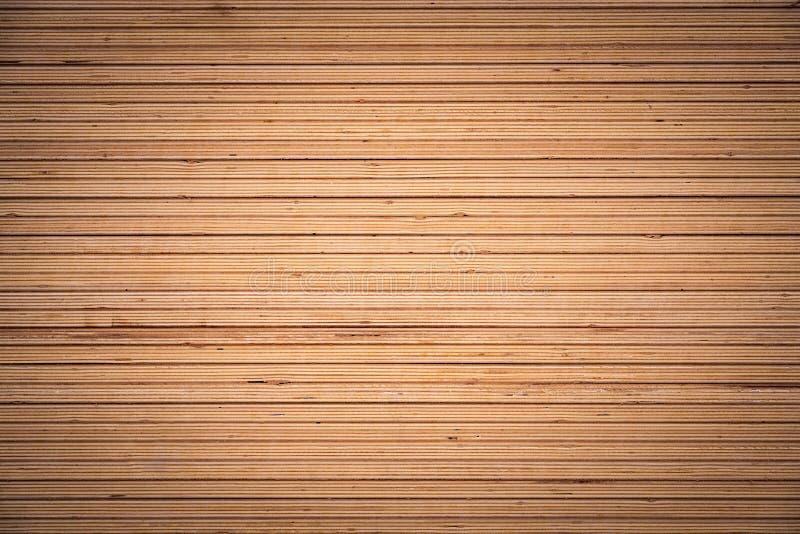 Wooden slats, line aranged and horizontal designed background.  stock photo