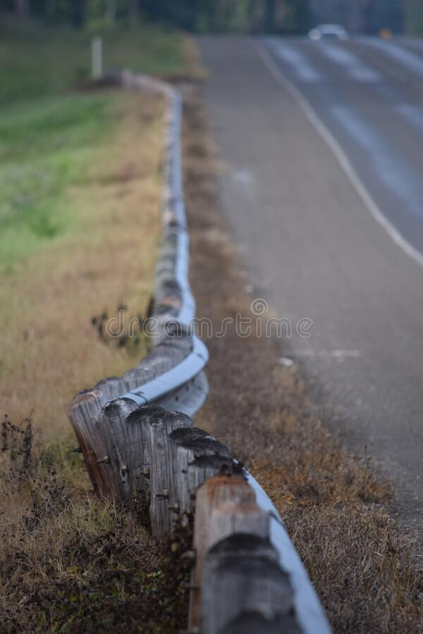 Wooden Small Fences Along The Road Free Public Domain Cc0 Image