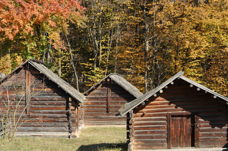 Wooden small houses