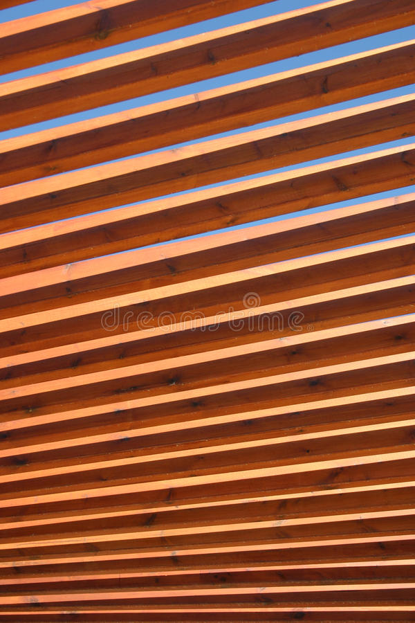 Wooden Spindles stock images