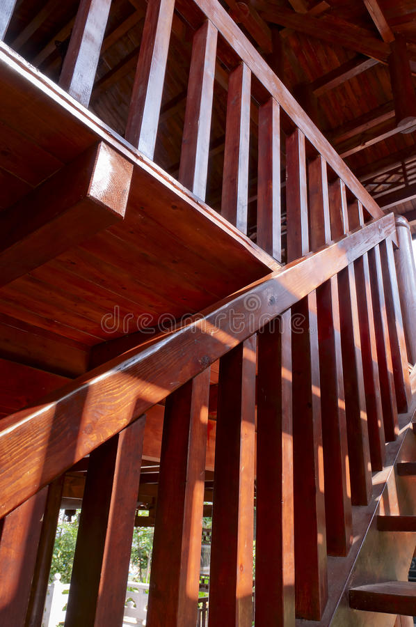 Download Wooden Staircase Stock Image - Image: 21834231