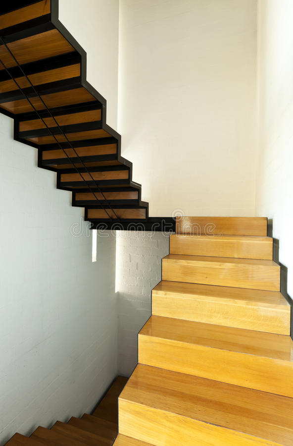Download Wooden staircase stock photo. Image of indoor, local - 22444812