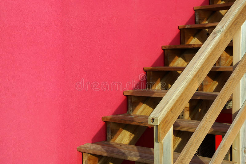 Download Wooden Stairway stock photo. Image of modern, rural, entrance - 18132760