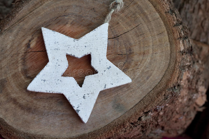 Download Wooden Star stock image. Image of rustic, star, decoration - 27452685