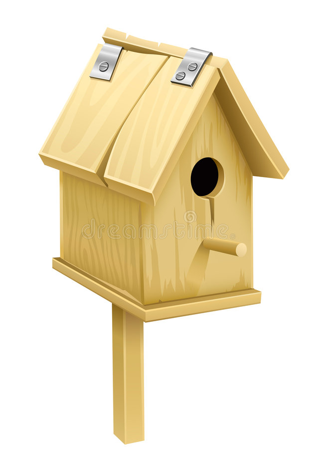 Free Wooden Starling-house - Home For Birds Stock Photo - 8826390