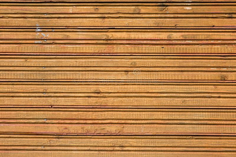 Wooden surface with horizontal stripes royalty free stock photo