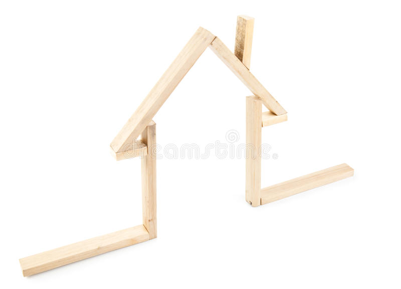 Download Wooden Symbol Home stock image. Image of activity, fortune - 18126819