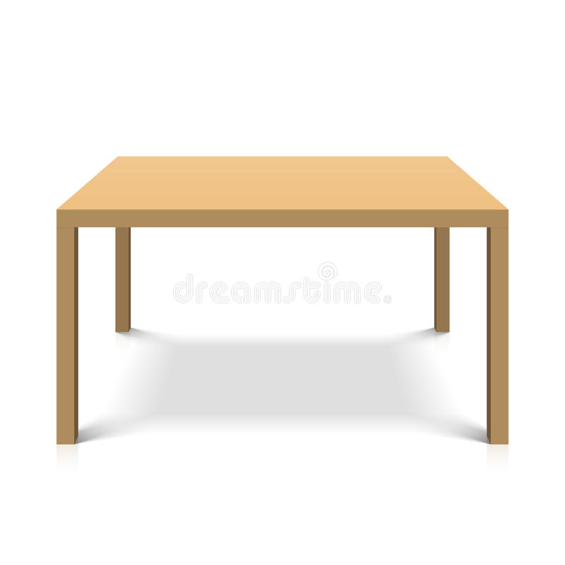Free Wooden Table Royalty Free Stock Photography - 28281497