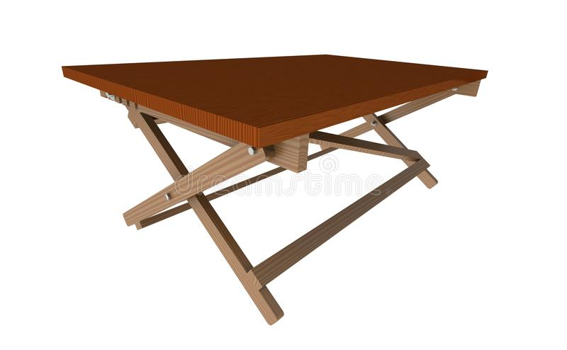 Wooden table 1 royalty free stock images