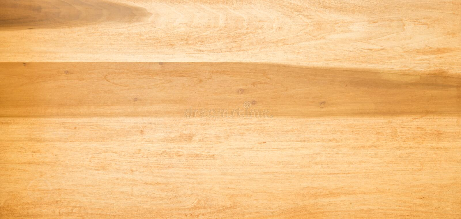 Wooden table top in light timber royalty free stock image