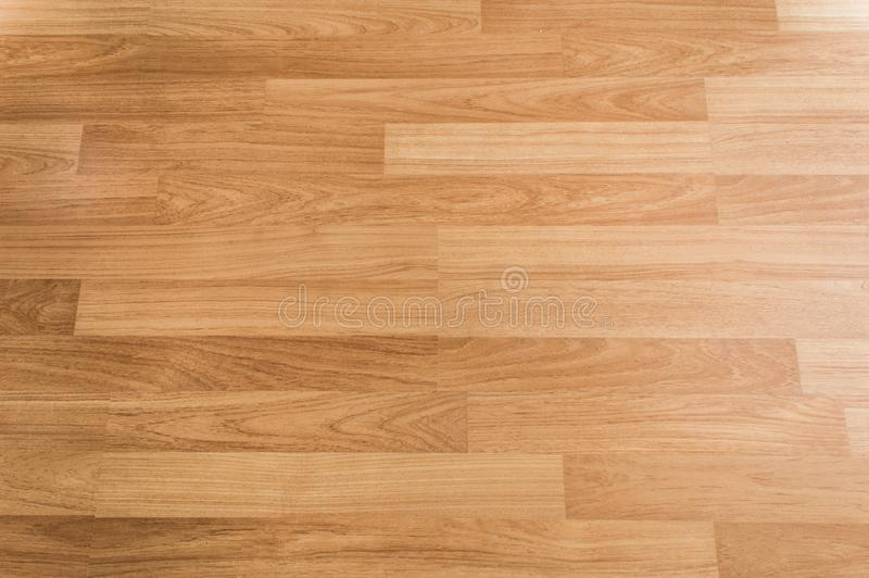 Wooden texture background, Top view of smooth brown laminate floor. Use for architecture business stock image