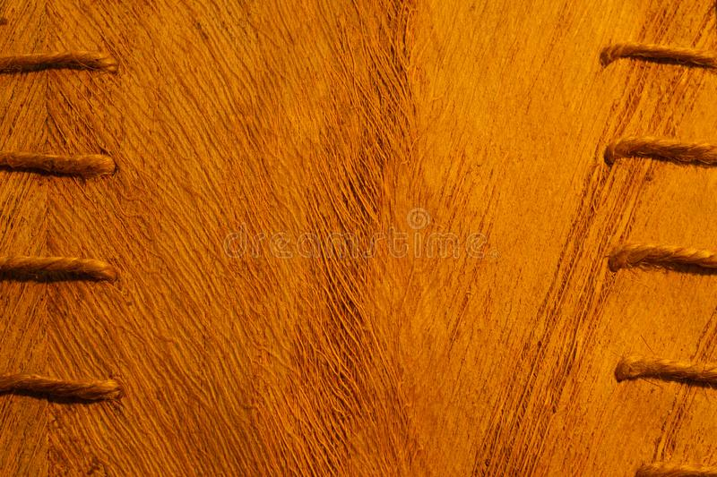 Wooden texture. rough wood macro background stock image