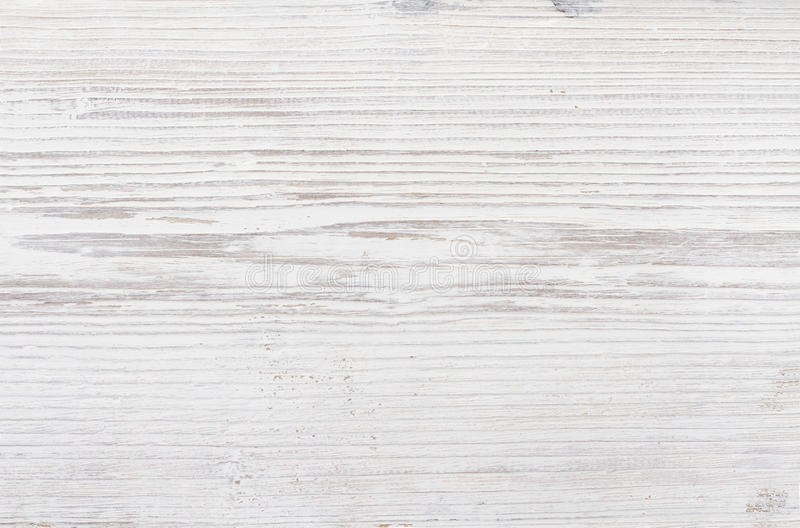 Wood Texture, White Wooden Background, Plank Timber Desk stock photography