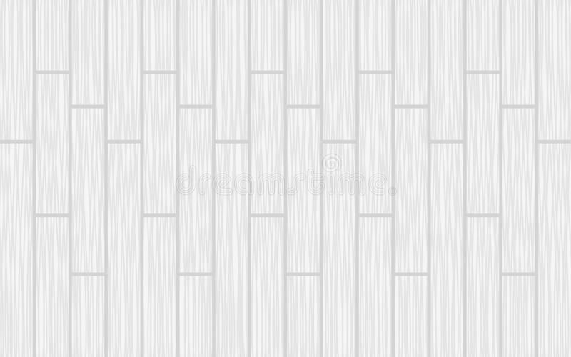 Wooden texture. White wood plank texture. White parquet background royalty free illustration