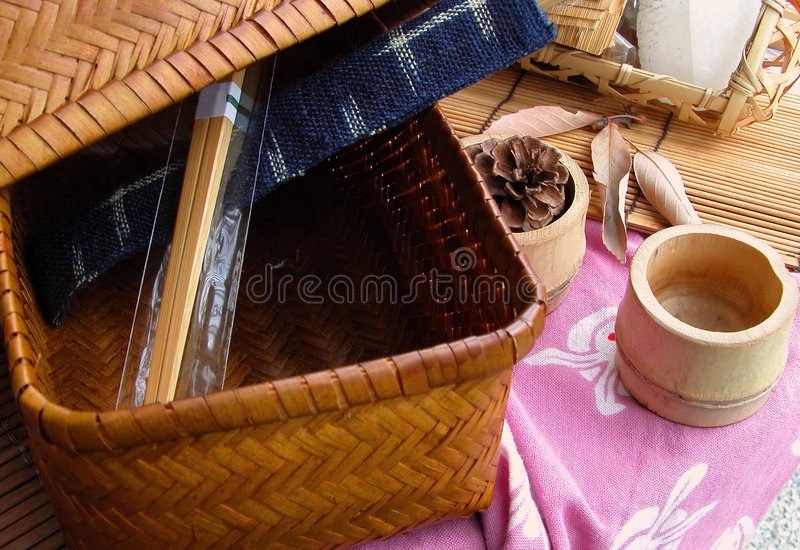 Download Wooden things still life stock image. Image of wood, blue - 1096645