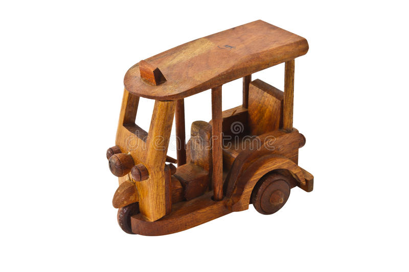 Download Wooden Three Wheeler Auto Rickshaw Toy Stock Illustration - Image: 26238324