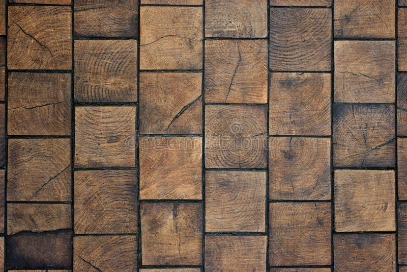 Wooden tiles. Close up of wooden tiles floor stock images
