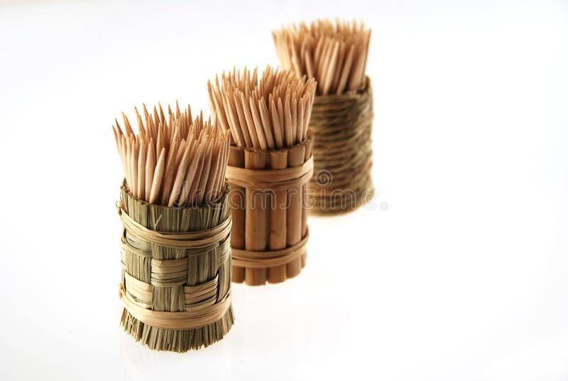 Download Wooden toothpicks stock photo. Image of picks, white, slim - 1770438