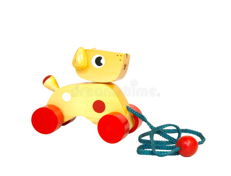 Wooden toy royalty free stock photos