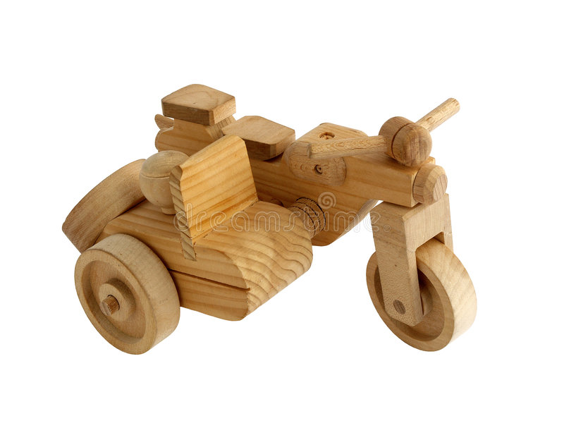 Wooden toy stock photo