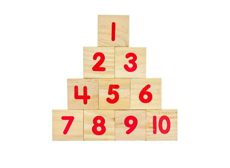 Download Wooden toy blocks isolated stock image. Image of cubes - 39510453
